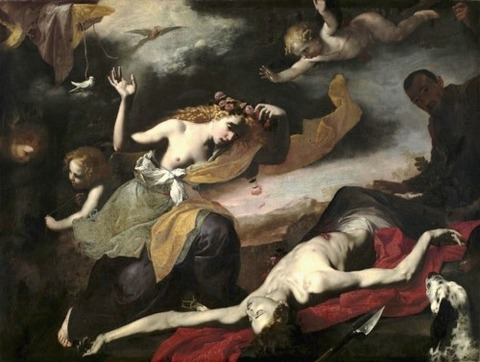 Jusepe de Ribera - The Death of Adonis