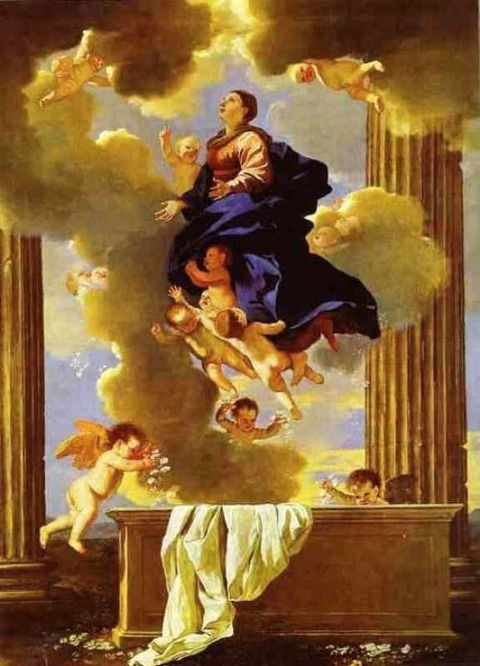 Nicolas Poussin - The Assumption of the Virgin 1638