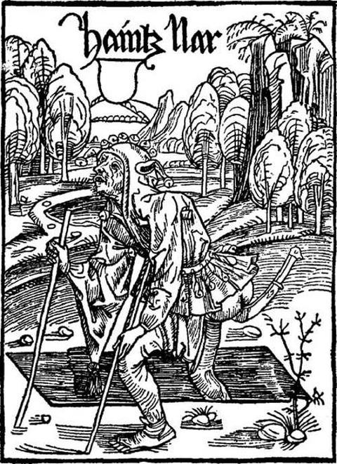 Albrecht Dürer  Das Narrenschiff von Sebastian Brant