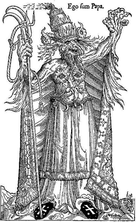 Protestant View of Pope Alexander VI as  Antichrist -15th