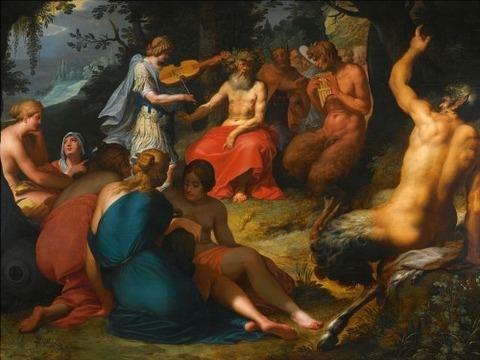 Abraham Janssens - The judgement of Midas 1601-2