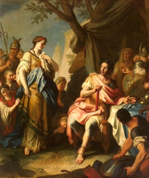 Pietro Rotari   Alexander the Great and Roxane_1756