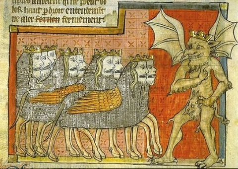 Fifth trumpet of the Apocalypse, France 1220-70