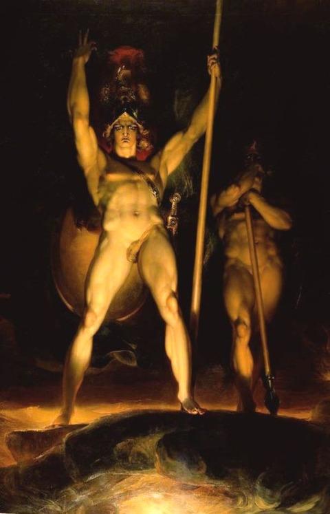 Satan Summoning His Legions, Thomas Lawrence 1769-1830