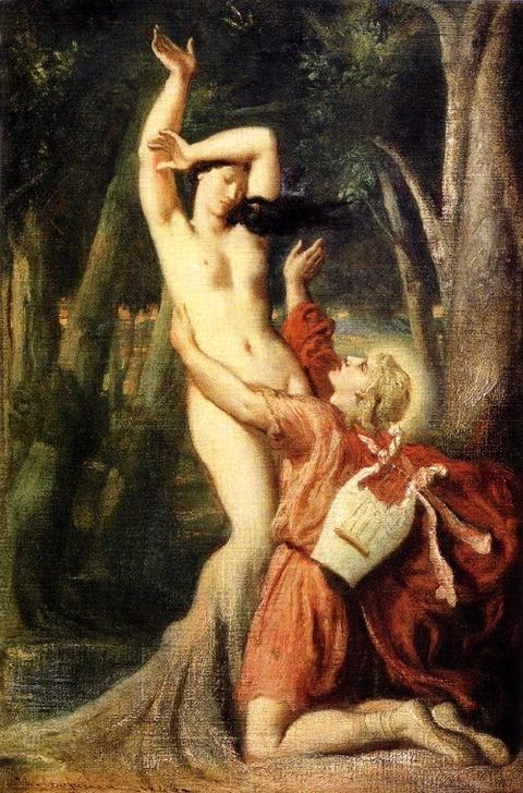 テオドール・シャセリオー  「 アポロとダフネ 」 1846