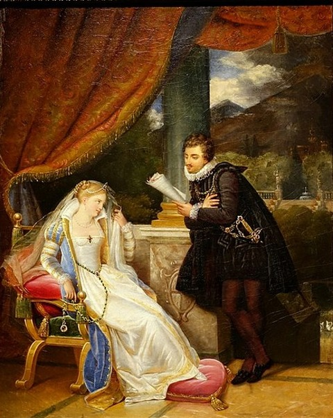 Tasso Jerusalem Delivered Princess Eleanor Louis Ducis 1819-22