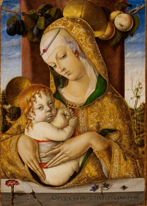'Virgin and Child',  Carlo Crivelli 1480