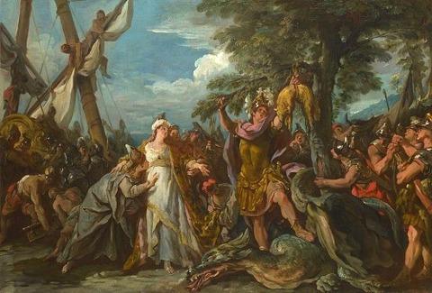 Jean-François de Troy Capture of the Golden Fleece 1742