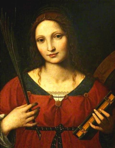 Bernardino Luini - Saint Catherine 16th