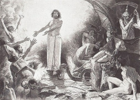 Christ In Hell, 1900