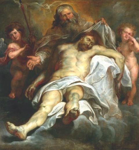 Holy Trinity - Peter Paul Rubens