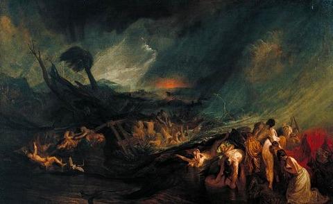 Turner  The Deluge 1805