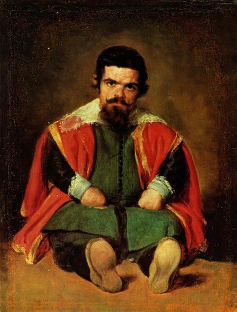 Velázquez_Bufón_don_Sebastián_de_Morra 1645 velazquez