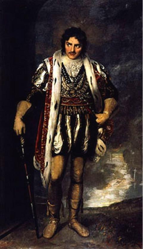 Edmund Kean as Richard III 1814  Samuel Drummond