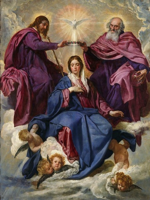 Coronation of the Virgin Diego Velázquez  1635-36