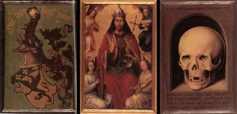 Triptych of Earthly Vanity and Divine Salvation 1485