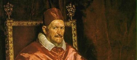 Portrait of Innocent X Oil 1650 -