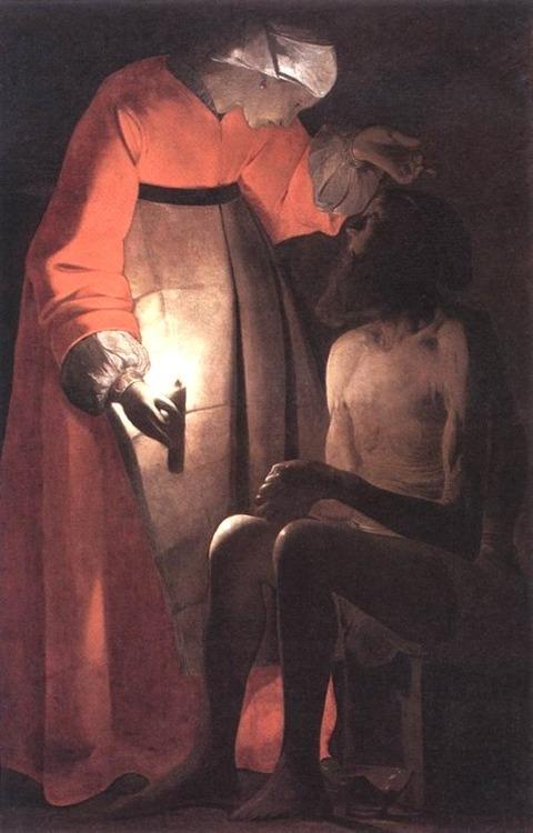 Job Ridiculed by his Wife DE LA TOUR 1593 – 1652