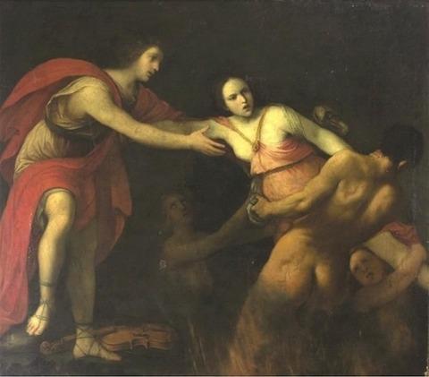Carlo Cignani - Orpheus and Eurydice_Jpeg