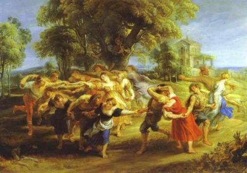 ルーベンス A Peasant Dance (1636-40)