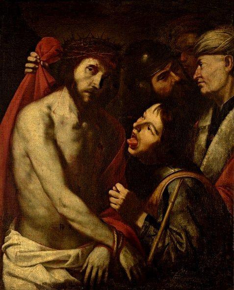 Jusepe de Ribera (1591-1652) Cristo deriso