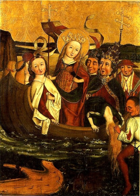 The Martyrdom of Saint Ursula  German school 16th