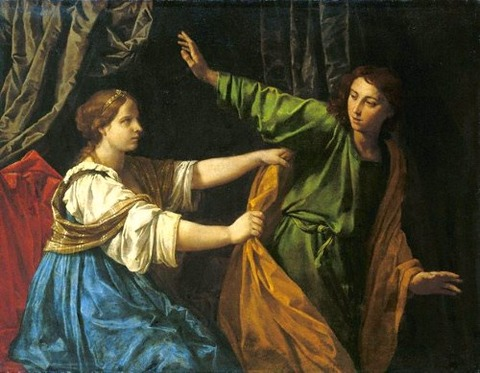 Joseph and Potiphar's Wife, Simone Contarini 1640