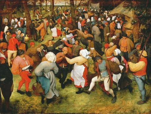 Pieter Bruegel de Oude - De bruiloft dans