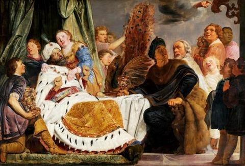Pieter de Grebber, Belshazzar's feast, 1625