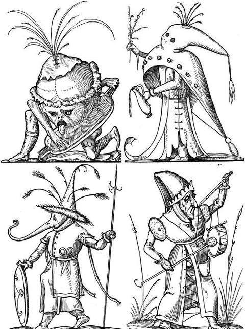 François Desprez - The Droll Dreams of Pantagruel (1565) 2