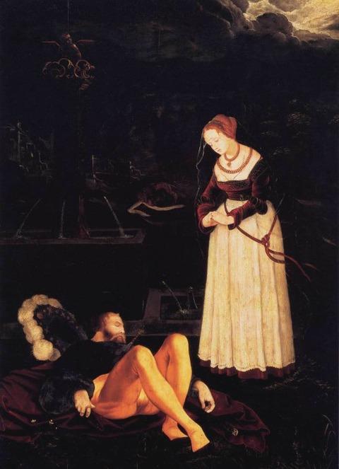 Hans Baldung Grien, Pyramus and Thisbe, c. 1530