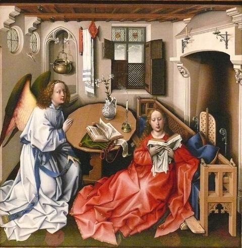 ロベルト・カンピン メロードの祭壇画 1427-32