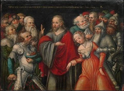 Lucas Cranach the Younger and Workshop 1545-50