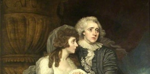 Romeo and Juliet  Mather Brown -