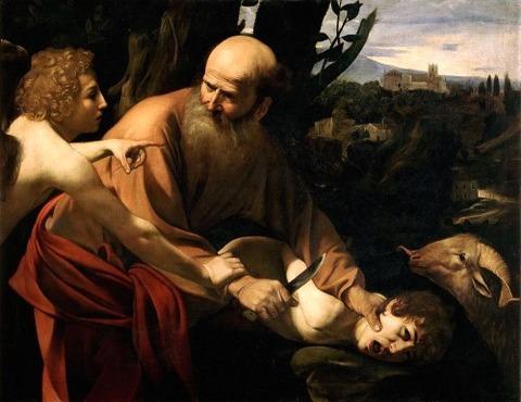 isaac_Caravaggio 1603
