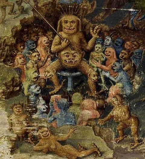 LIstoire de Merlin 1480-1485 Artist  Jean Colombe