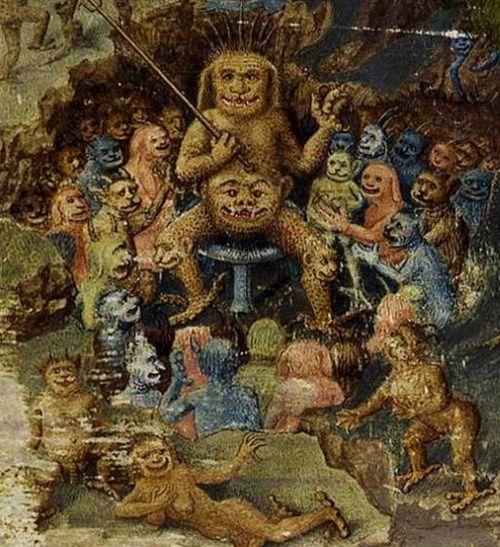 悪魔の絵画Jean Colombe