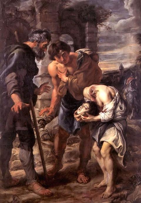 Saint Justus (1635) by Peter Paul Rubens