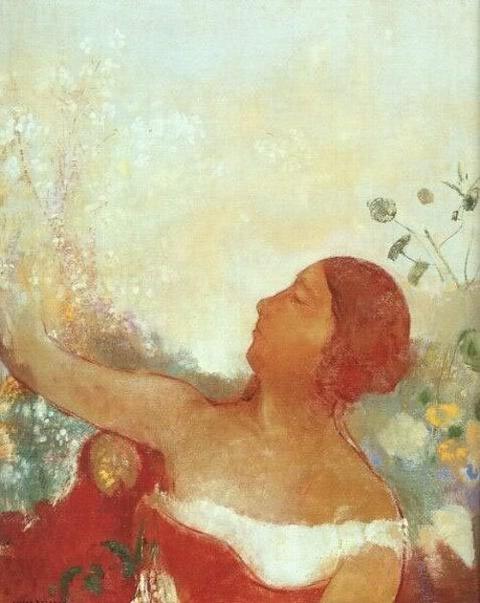 La bambina predestinata (Ofelia)  Odilon Redon