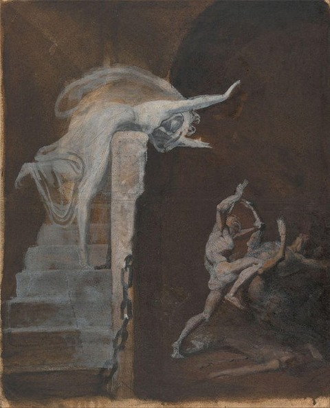 Ariadne Watching the Struggle of Theseus with the Minotaur