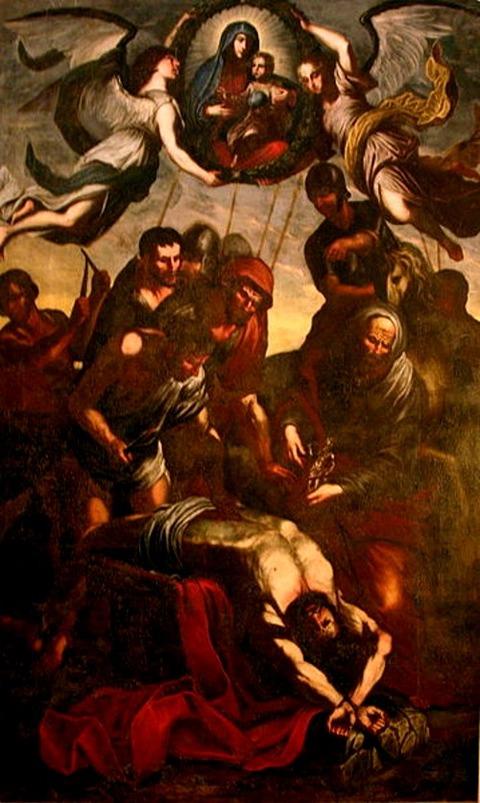 Martyrdom of St Erasmus (1657) José Luiz -