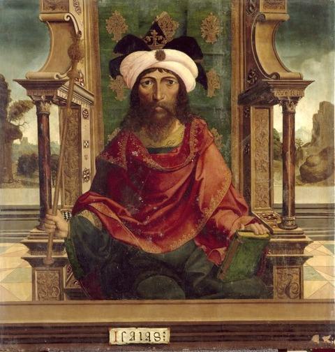 The Prophet Isaiah,  1525 Maestro de Becerril