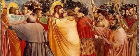 Giotto-KissofJudas 1304-06 - コピー