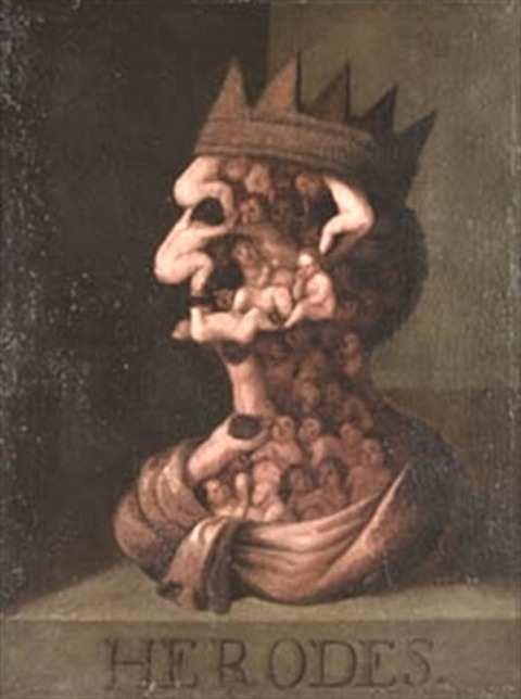 herodes by giuseppe arcimboldo