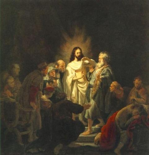 Rembrandt - Doubting Thomas