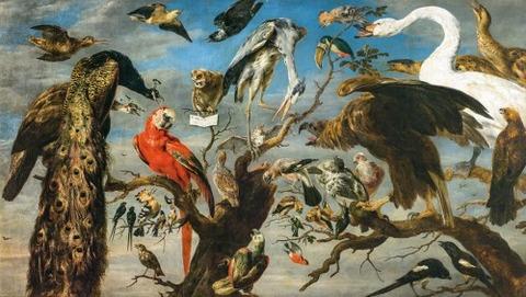 フランス・スネイデルス《鳥のコンサート》