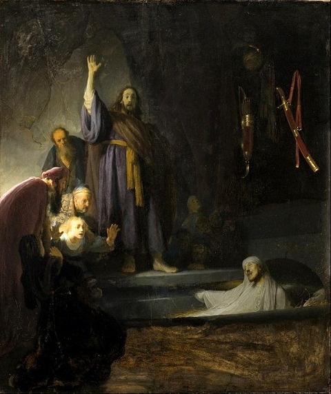 The Raising of Lazarus, Rembrandt 1630-2
