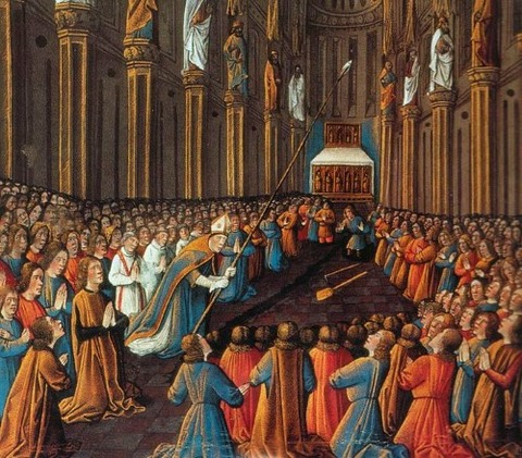 Jean Colombe 1474 Holy Lance Antioch