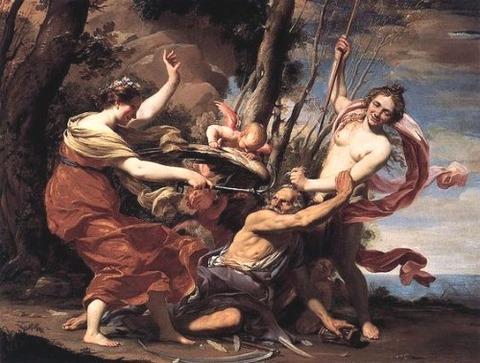 Simon Vouet (1590-1649) hope love victory