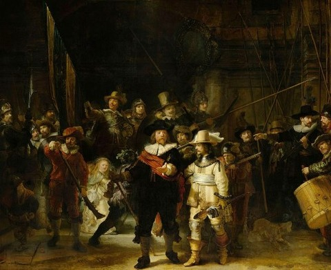 The_Nightwatch_Rembrandt 1642